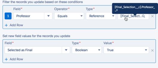 Conditions and Values