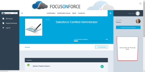 salesforce certified administration practice exams