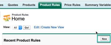 New Product Rule